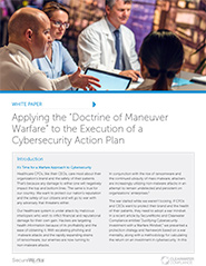 Applying the 'Doctrine of Maneuver Warfare' to the Execution of a Cybersecurity Action Plan