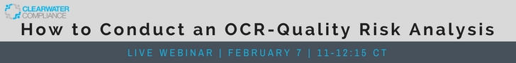 How to Conduct to an OCR-Quality Risk Analysis
