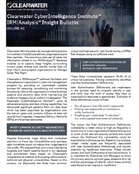 Clearwater-CyberIntelligence-Institute™-IRM-_-Analysis™-Bulletin-1