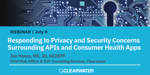 Responding to Privacy and Security Concerns Surrounding APIs and Consumer Health Apps