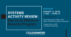 Systems Activity Review: Key to an Effective Security Program