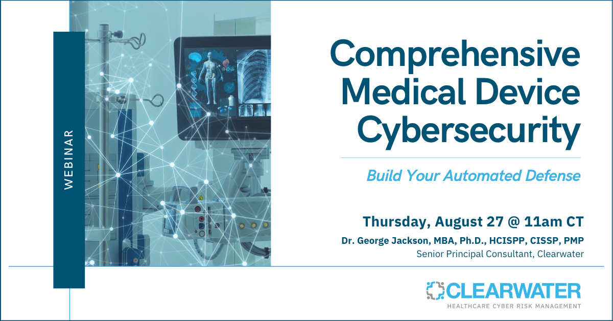 Comprehensive Medical Device Cybersecurity