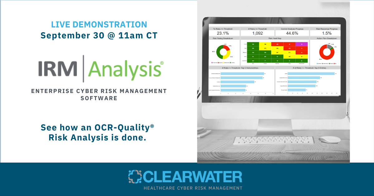Want to see a live demo of the awarded best-in-class IRM|Analysis® software?