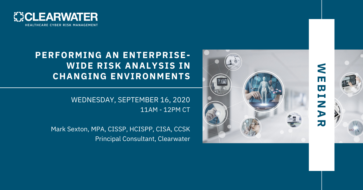 Performing an Enterprise-Wide Risk Analysis in Changing Environments
