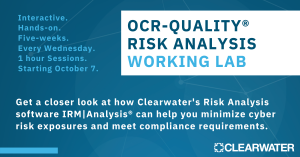 OCR-Quality® Risk Analysis Working Lab