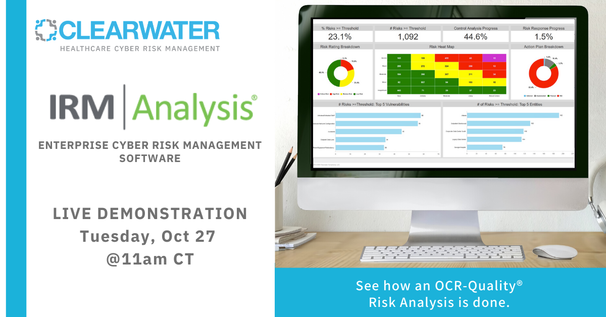 IRM|Pro Risk Analysis Demo - October 27, 2020