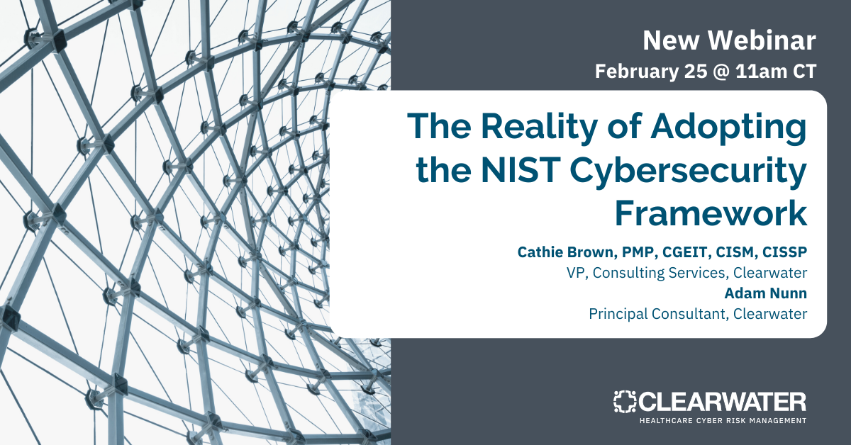 The Reality of Adopting the NIST Cybersecurity Framework