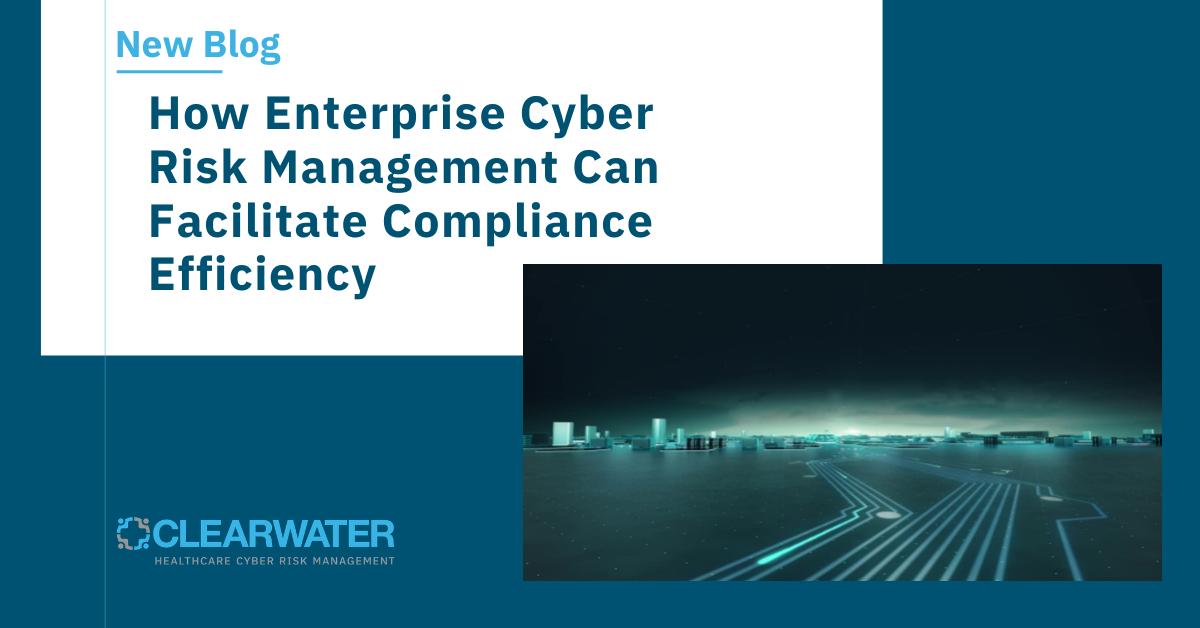 How Enterprise Cyber Risk Management Can Facilitate Compliance Efficiency
