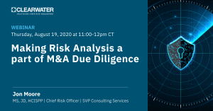 Making Risk Analysis a Part of M&A Due Diligence